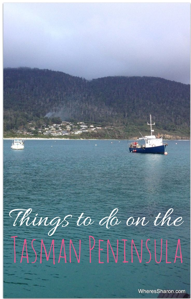 Top 8 things to do on the Tasman Peninsula with Blogger Sharon Gourlay and her family. #tasmania #familytravel #discovertasmania http://www.wheressharon.com/australian-travels/things-to-do-on-the-tasman-peninsula/