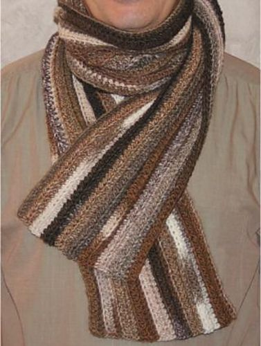Crochet Scarf Pattern Male : 17 Best ideas about Crochet Mens Scarf on Pinterest ...