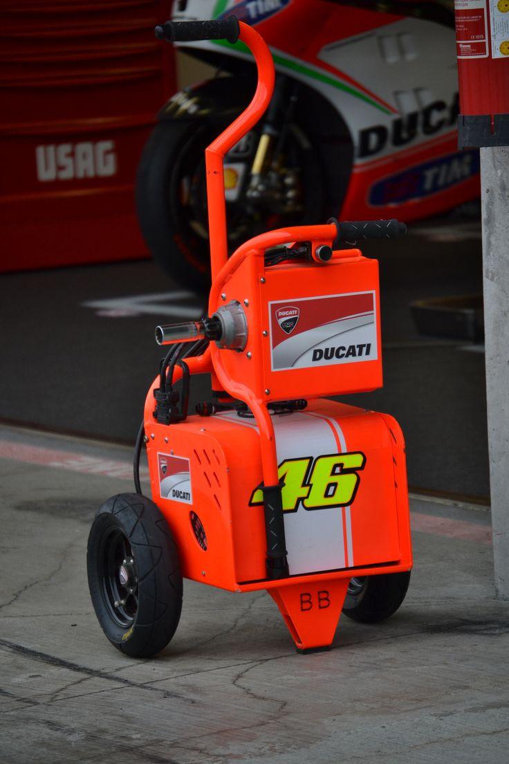 Ducati starter