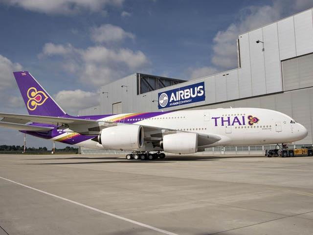 Thai Airways réduit ses pertes
