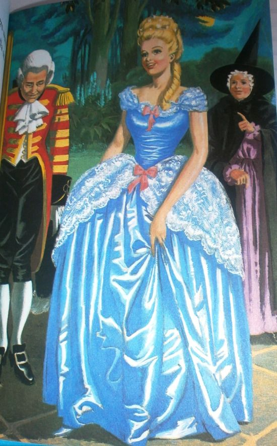 Vintage Ladybird Book: Cinderella - I always liked this dress best