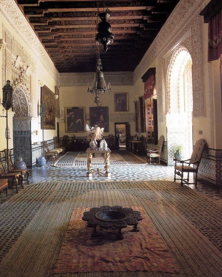 Palacio de las Duenas, Sevilla, Spain.