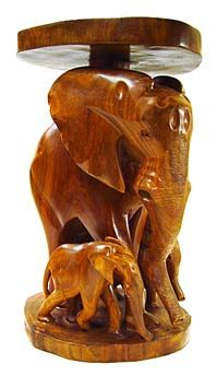 Elephant Table Wooden Furniture