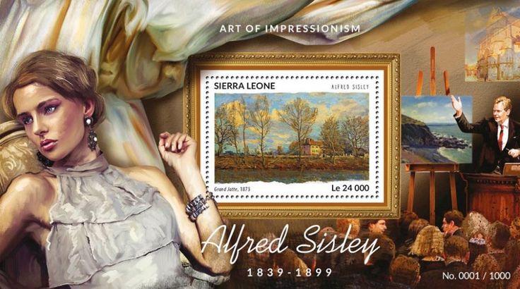 SRL15413b Alfred Sisley (Grand Jatte, 1873)
