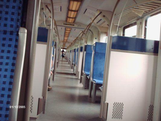 U-Bahn. Frankfurt am Main. Deutschland.