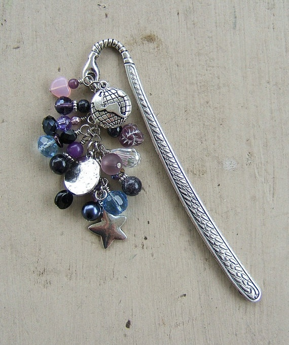 Across the Universe Bookmark by MistressJennie on Etsy, $18.00