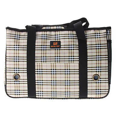 Plaid Pattern Style Pet Carrier for Dogs Cats http://mxpi.co.nf/?item=471476