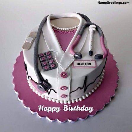 Write Name On Doctor Birthday Cake