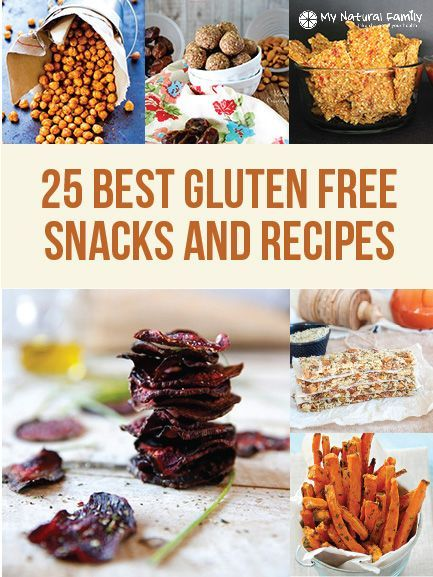 25 of the best gluten-free snacks and recipes