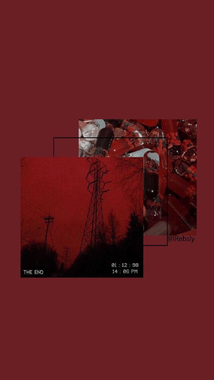 #iphone 11 aesthetic wallpaper in 2020 | Red wallpaper ...