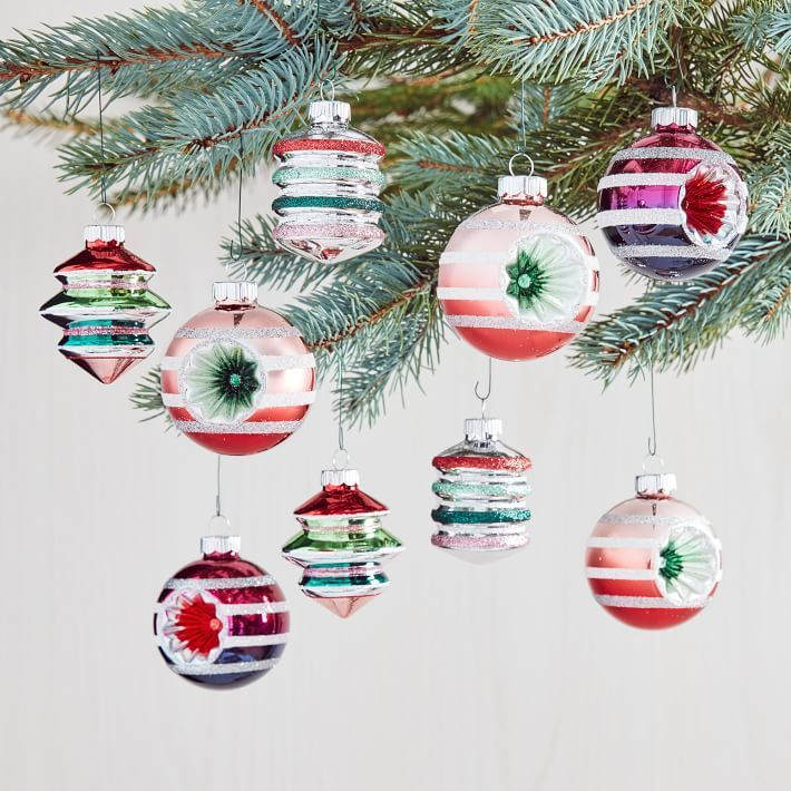 West Elm S Vintage Inspired Shiny Brite Christmas Ornament Collection Is On Sale Right Now In 2020 Shiny Brite Ornaments Christmas Ornaments Shiny Brite