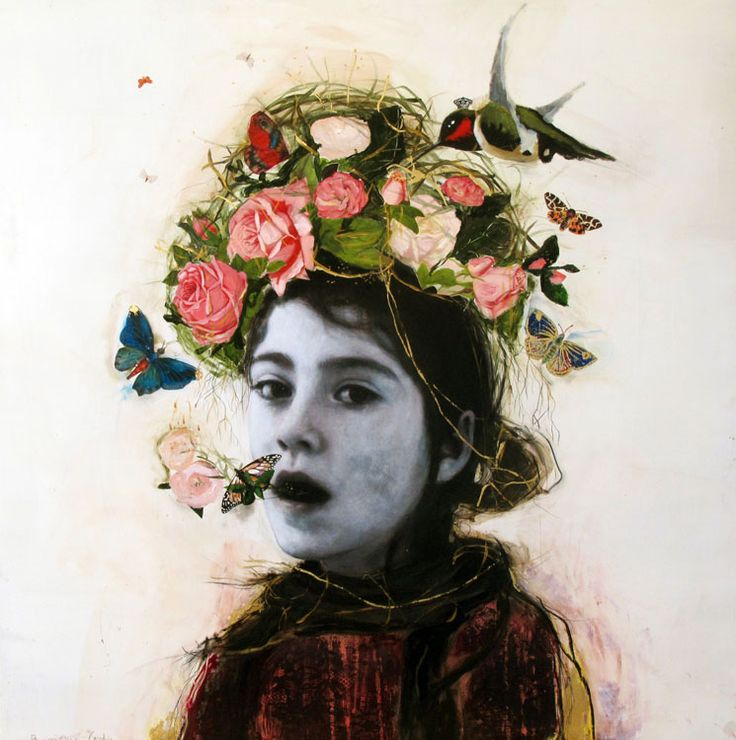 """""""I know a 'face' where the wild thyme blows, Where oxlips and the nodding violet grows, Quite over-canopied with luscious woodbine, With sweet musk-roses and with eglantine."""" William Shakespeare, A Midsummer Night's Dream    Via Jessica Zoob   Dominique fortin."""
