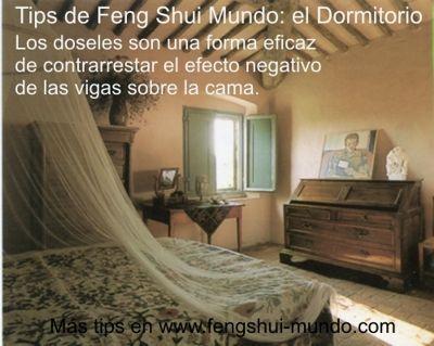 Feng shui dormitorio vigas casa feng shui pinterest for Tips de feng shui para el hogar