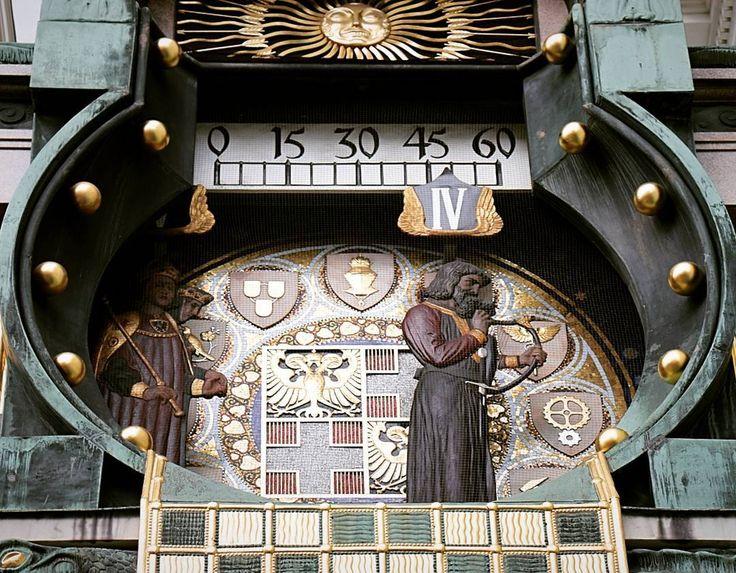 Ankeruhr który nie ma ani wskazówek ani cyferblatu a pochodzi z czasów secesji.  #österreich #austria #wienna #Vienna #Vyana #Вена #Bec #viden #Wien #Vienne #viena #Viena #Vindobona #vieden #Dunaj #viyana #Bécs #wiedeń #1000thingsinvienna #igersaustria #igersvienna #igerswien #visitvienna #visitaustria #streetsofvienna #nofilter #travel #travelpic #travelporn