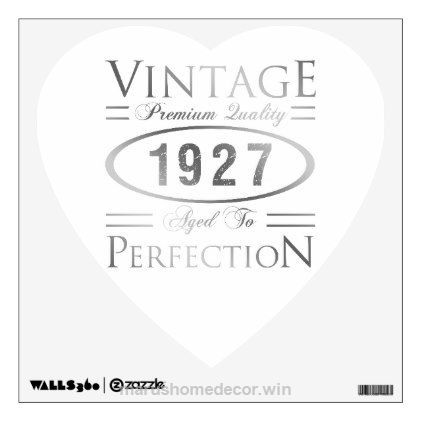 Check it out Vintage 1927 Birthday Wall Sticker – walldecals home decor cyo custom wall decals  The post  Vintage 1927 Birthday Wall Sticker – walldecals home decor cyo custom wall decal…  ..