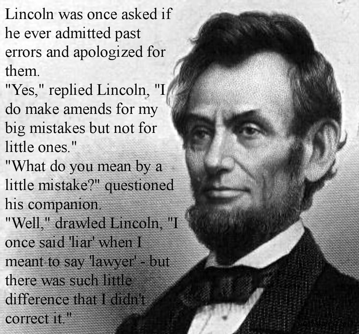 Lincoln was not the greatest president