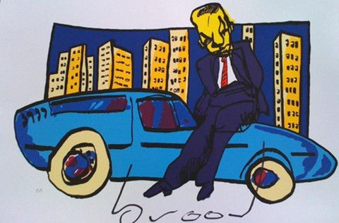 Sharp Dressed Man | Herman Brood | http://www.yookoo.nl/collections/online-galerie/products/sharp-dressed-man
