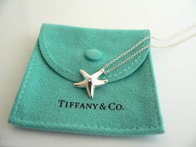 Tiffany & Co Silver Starfish Necklace