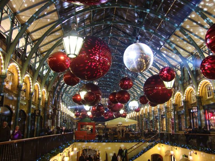 100 Places You Need To Visit: London At Christmas Time