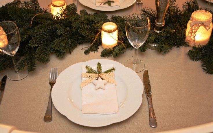 Tusen Ting: Hvordan pynte bord til jul og nyttårsaften