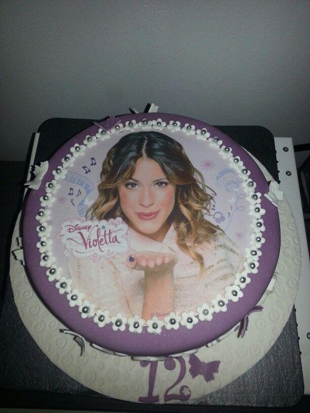 Tarta de Violetta ♡♥