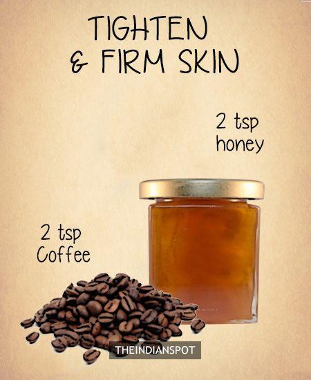 Coffee Facial – skin firming mask -