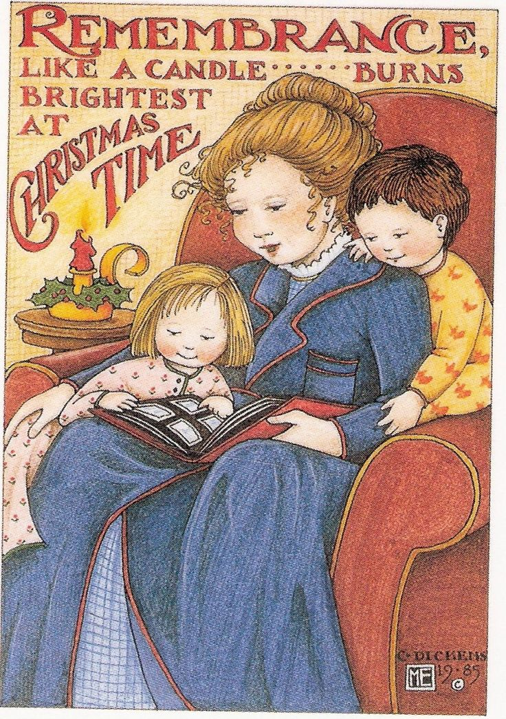Remembrance Brightest at Christmas Mother Fridge Magnet with Mary Engelbreit Art | eBay