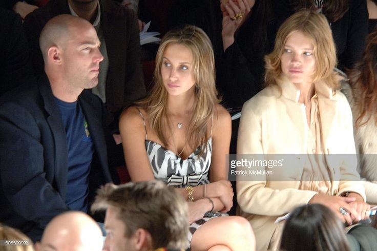 Alexandre Von Furstenberg, Ali Kay and Natalia Vodianova attend Diane von Furstenberg Fall 2006 Fashion Show Front Row at The Tent at Bryant Park on February 5, 2006 in New York.