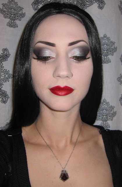 Make up: Morticia Addams inspired