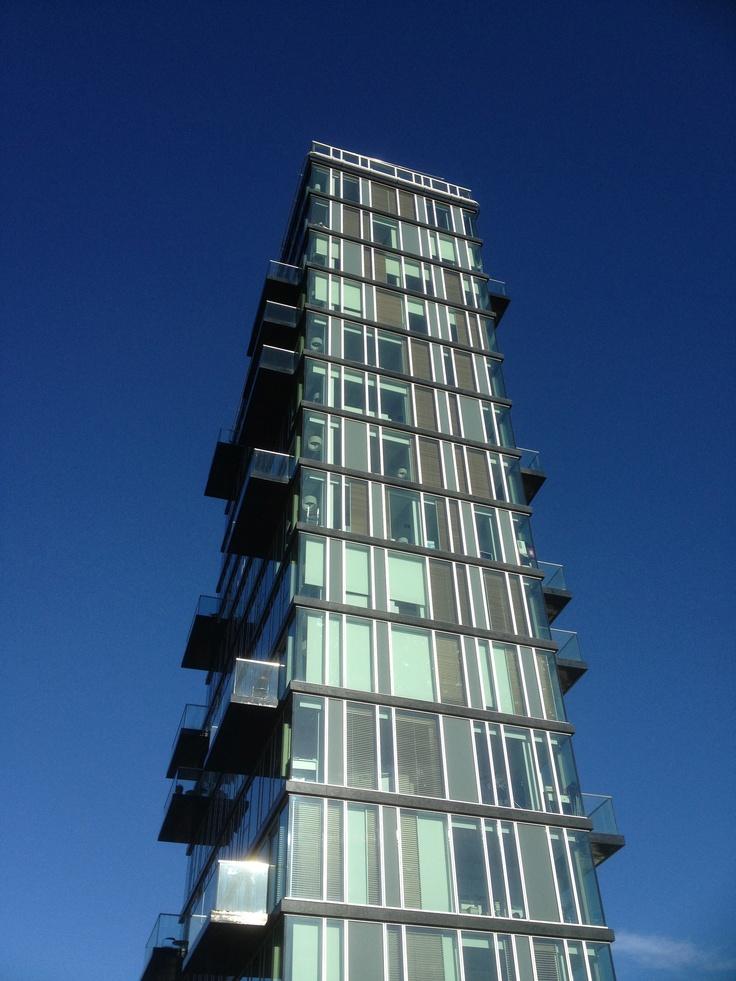 Award winning Architecture at the Grand Canal Basin, Dublin