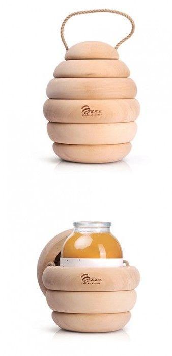 Bzzz Premium Honey Packaging by Backbone Branding