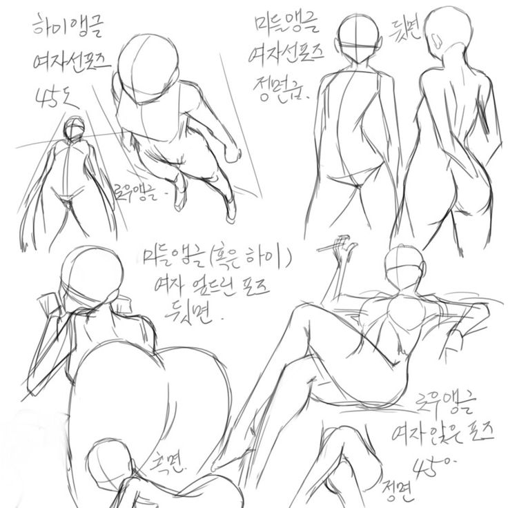 Poses & references (female)