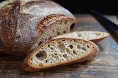 Špaldový kváskový chleb s bramborami