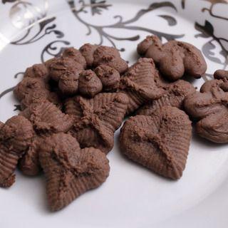 Chocolate spritz cookie recipe