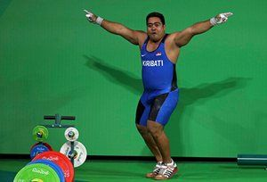 Rio 2016: Kiribati weightlifter dances to highlight climate change | World news | The Guardian