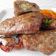 Fotografie receptu: Plněné mleté kapsy s balkánským sýrem