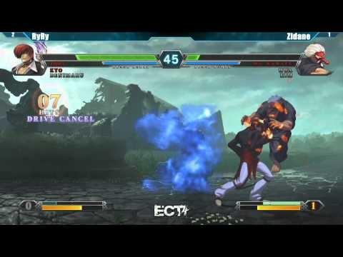 ECT4 Tournament King of Fighters XIII Grand Finals - RyRy vs Zidane #KOFXIII