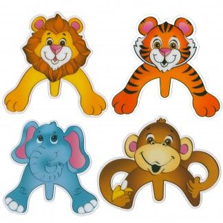 Pack of 12 large plastic zoo animal cupcake picks.Create the cutest zoo animal cupcake creations with our large zoo animal picks!Cupcake picks measure 12.5cm x 12cm wide and are made of quality plastic. Images are printed on both sides.Featuring a lion, tiger, monkey and elephant these gorgeous picks are perfect for a Jungle or zoo animal themed party - simply put them on top of iced cupcakes for a cuddly zoo animal finish!Cake picks could also be used to decorate ice cream cones, slices…