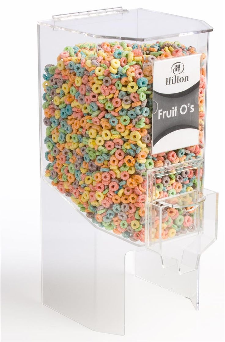 Best 25 cereal storage ideas on pinterest cereal box for Cereal organizer