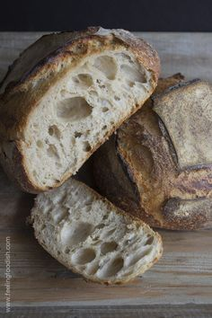 tartine bread  - did you know long fermented bread improves digestion of gluten, stays fresher muchhh longer and tastes aboslutely amazing!! Try this!  | Feelingfoodish.com
