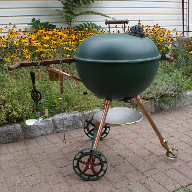 Steampunk Weber Grill Things I Ve Made Charcoal Bbq