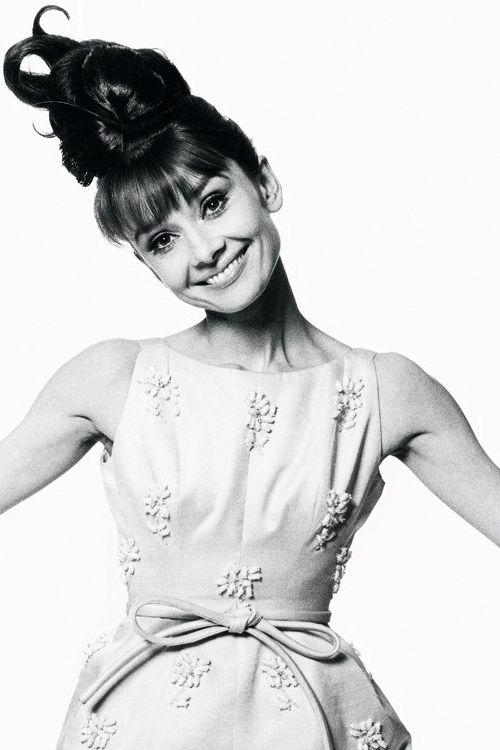 Audrey Hepburn photographed by Bert Stern, 1963