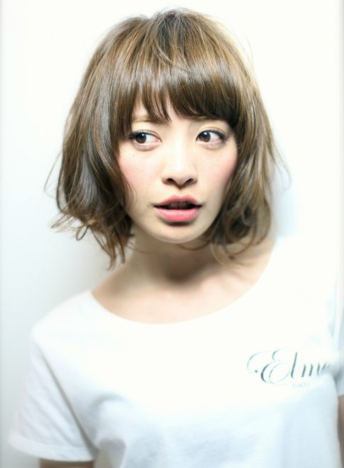 Elme style !! ボブ 【Elme】 http://beautynavi.woman.excite.co.jp/salon/26963?pint ≪ #bobhair #bobstyle #hairstyle #bobhairstyle・ボブ・ヘアスタイル・髪形・髪型≫