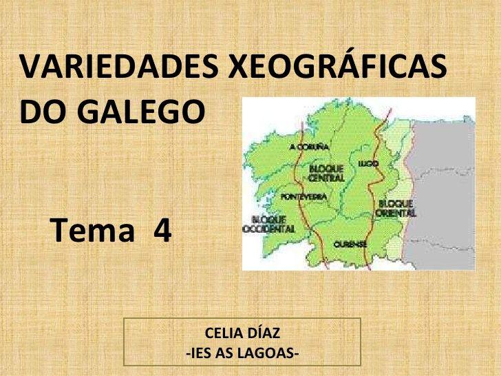 Variedades xeográficas #Galicia #Galiza