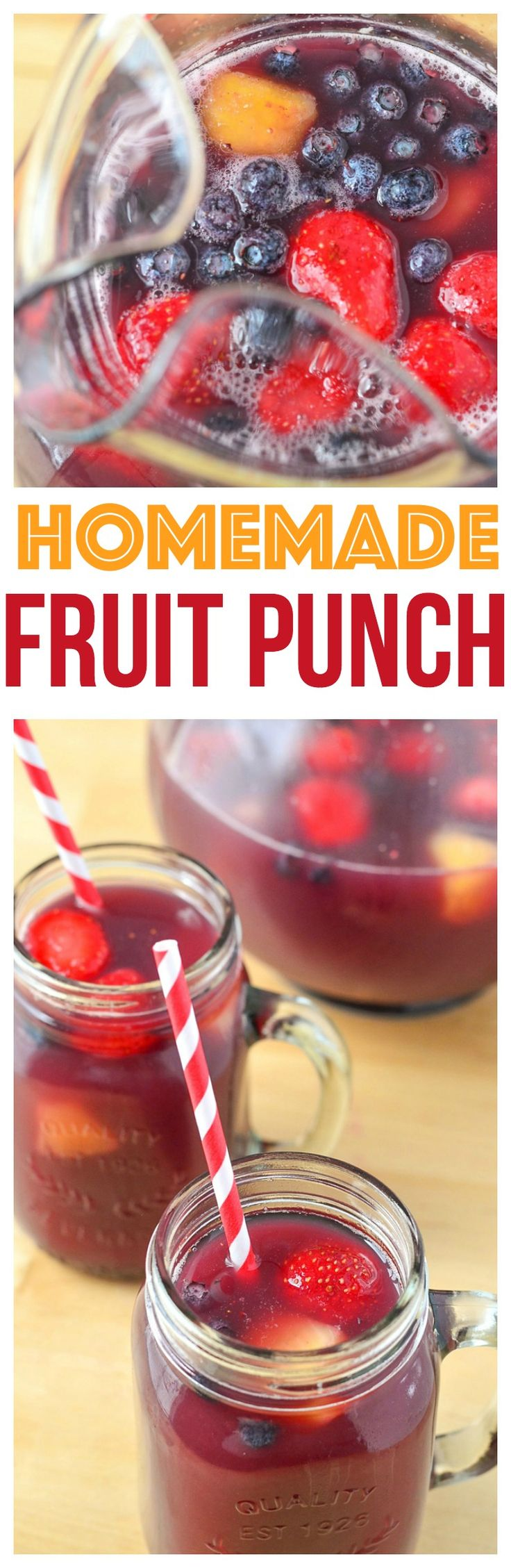 Fun drinks recipes for Kids Mini Chef Mondays homemade fruit punch recipes fruit punch recipes for kids fruit punch recipes non alcoholic  via @CourtneysSweets