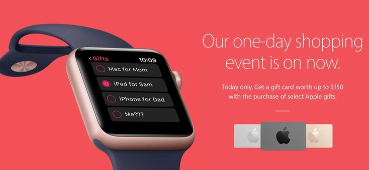 Apple launches its Black Friday specials