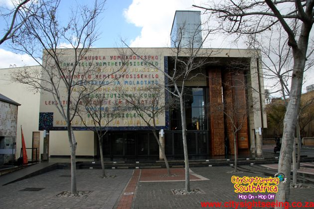 Constitution Hill  http://citysightseeing-blog.co.za/2014/10/24/top-10-things-to-do-in-the-city-of-gold-johannesburg/