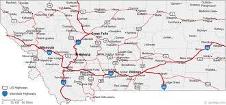 MAP OF MONTANA Click Now For City Maps MONTANA Pinterest - Road map of montana