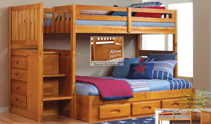 25 Best Ideas About Staircase Bunk Bed On Pinterest Bunk Bed Rooms Trundle Bunk Beds And