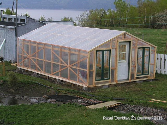 Build a Plastic Greenhouse - Plans ( The Polyethylene material - Greenhouse covering )